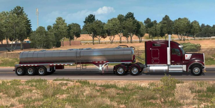Durahaul Water Tanker Ownable v28 02 19 1 34 x for ATS - ATS mod