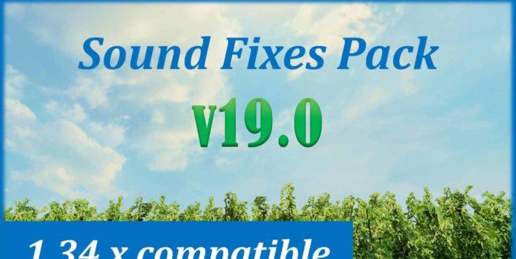 Sound Fixes Pack v 19 00 – V1 34 x Mod - ATS mod / American