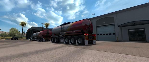 Tanker Aussie v1 0 0 0 ATS Trailer - ATS mod / American
