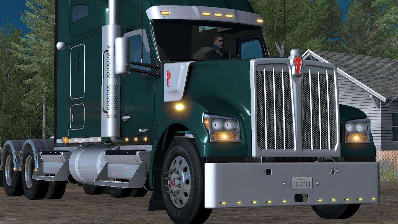 KENWORTH W990 2019 1 34 x for ATS - ATS mod / American Truck
