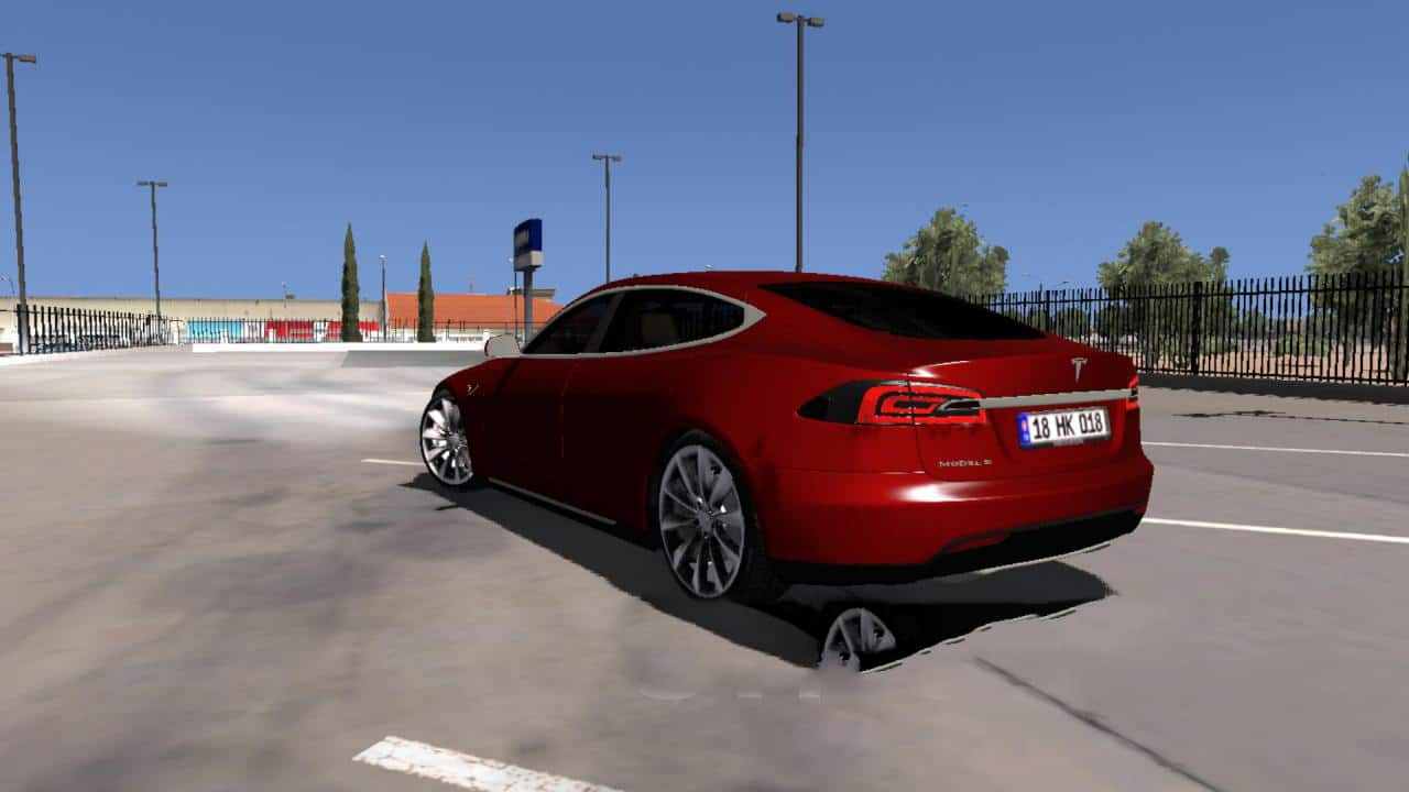 Tesla Model S Car 1 0 For Ats Ats Mod American Truck
