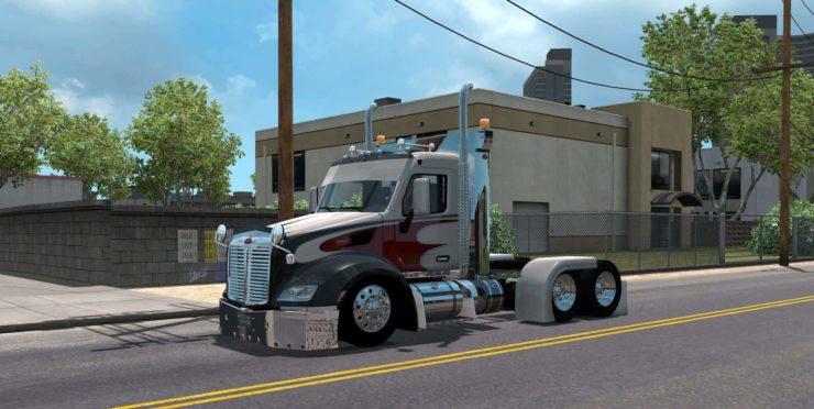 Peterbilt 579 v1 0 1 34 x Mod - ATS mod / American Truck