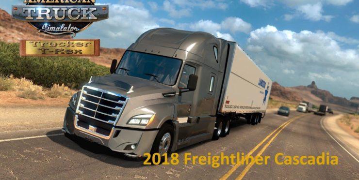 Freightliner Cascadia - ATS mods / American Truck Simulator mods