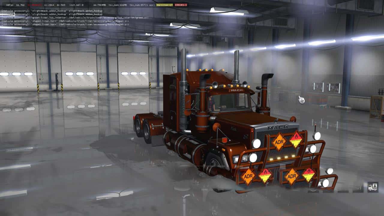 Mack Superliner Renenate v1 0 Mod - ATS mod / American Truck