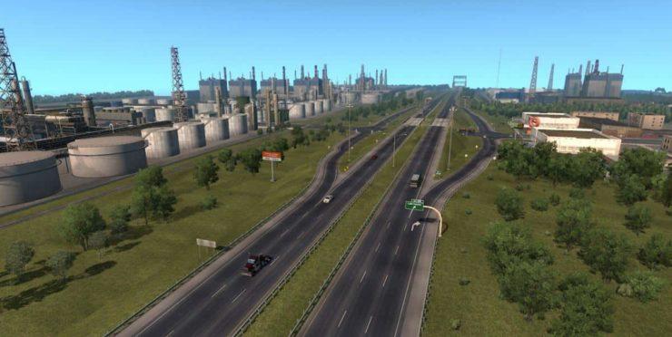 Coast to Coast – NOT WA DLC v2 8 1 ATS - ATS mod / American Truck