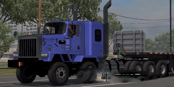 Kenworth C500 JDM v1 1 ATS - ATS mod / American Truck Simulator mod