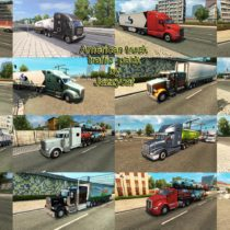 AMERICAN TRUCK TRAFFIC PACK BY JAZZYCAT V2 0 ETS2 - ATS mod